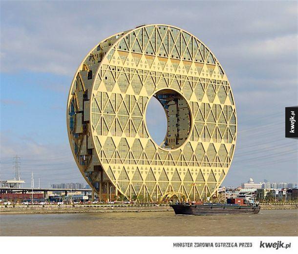 Największe na świecie centrum handlu surowcami z tworzyw sztucznych Guangzhou Circle (Guangzhou, Chiny)
