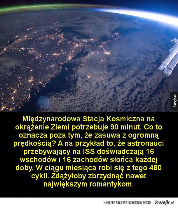Ciekawostki o Międzynarodowej Stacji Kosmicznej