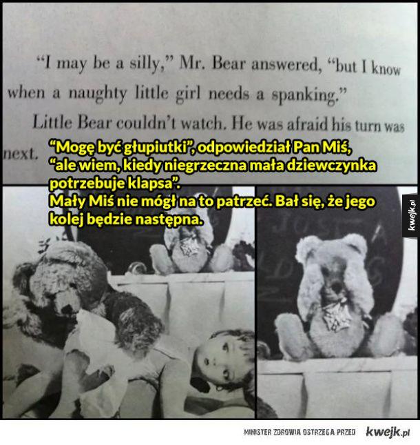 Dziwne rzeczy znalezione w książkach dla dzieci