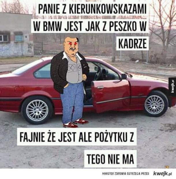 Kierunkowskazy w BMW
