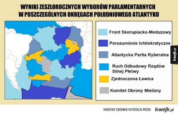 Wyniki wyborów parlamentarnych
