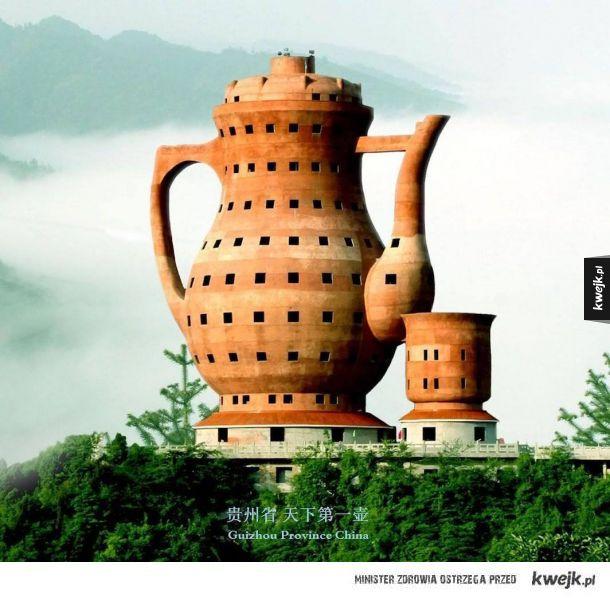 Największy pomnik w kształcie dzbanka do herbaty (Meitan, Chiny)