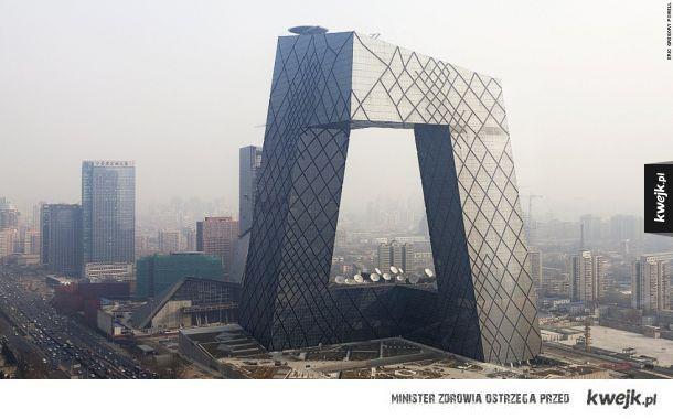 Siedziba Centralnej Telewizji Chińskiej (Pekin, Chiny)