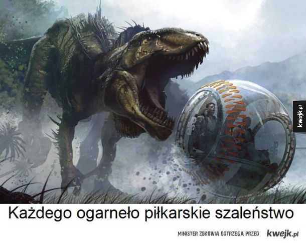 Dinozaur-piłkarz