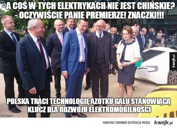 Co polskiego w naszych elektrykach? - Chyba tylko znaczki