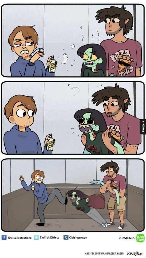 Komiksy Zom Com