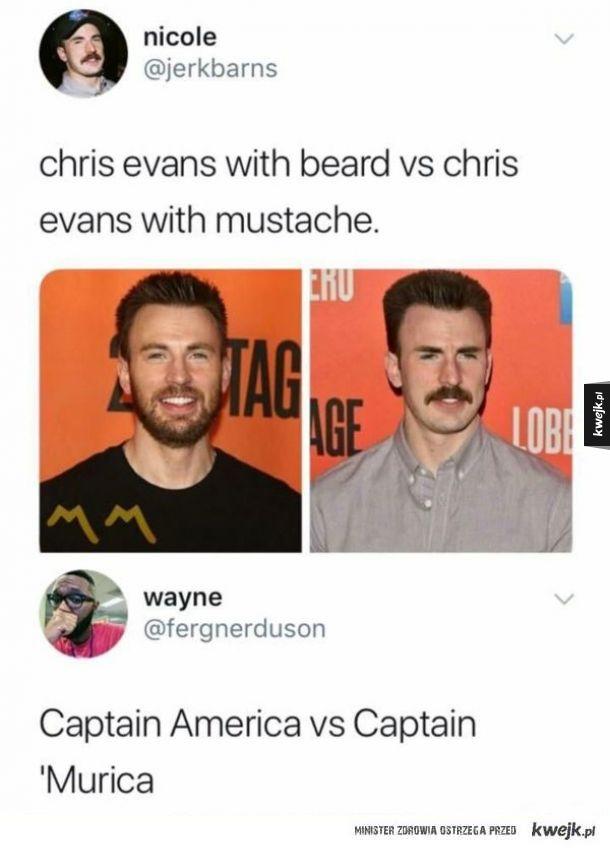 Captain America vs Captain 'Murica