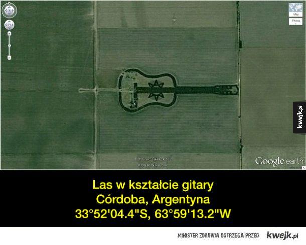 Interesujące rzeczy znalezione na Google Maps