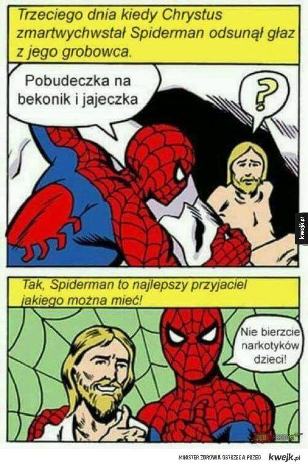 Spiderman najlepszy ziomek