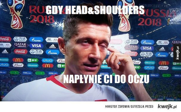 #Polacy #Lewy #szampon #Head&Shoulders #porażka