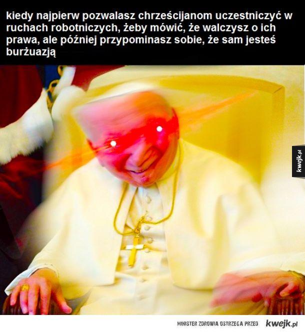 ah ten papieżak