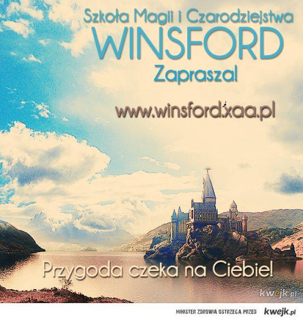 Zapisz się na ucznia w Szkole Magii i Czarodziejstwa Winsford http://www.winsford.pl