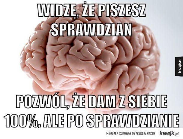Co ten mózg