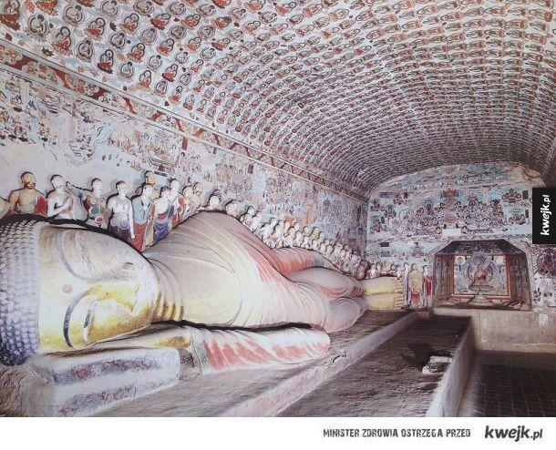 Jaskinie Mogao (Jiuquan, Chiny)
