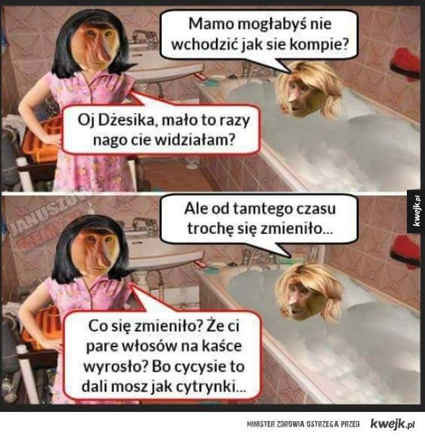 DŻESIKA I MAMA