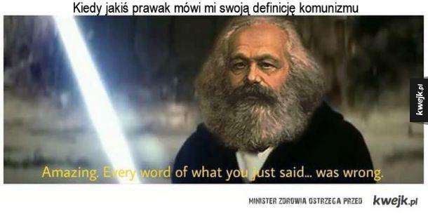 Kiedy rozmawiasz z prawakiem...