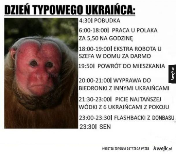 Typowy ukrainiec,