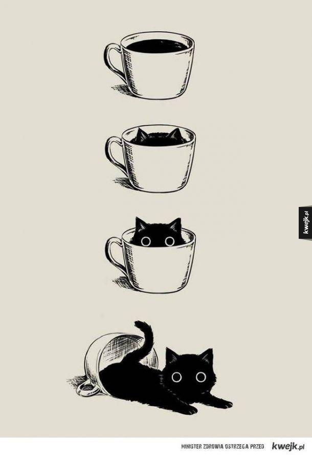 Mała filiżanka kawy