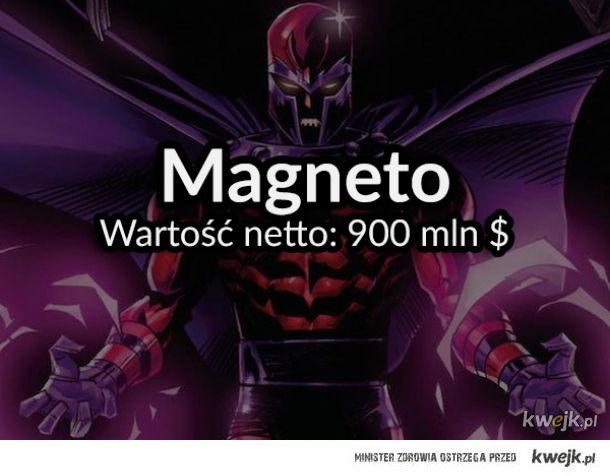 Nie tylko Bruce Wayne, czyli najbogatsze postacie z komiksów Marvela i DC Comics