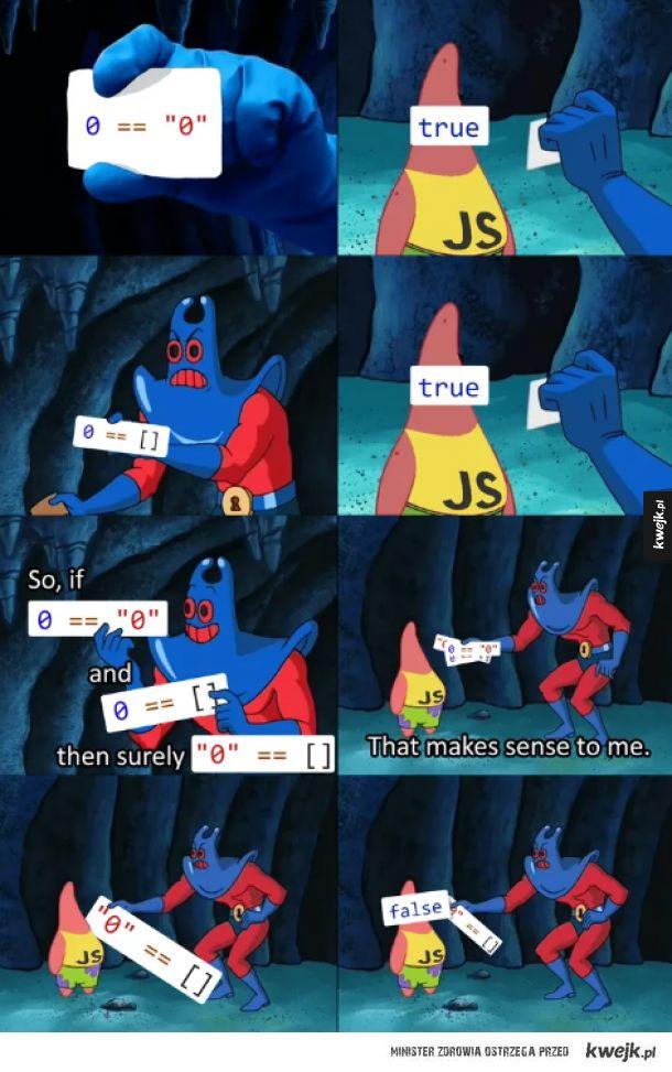 Dziwactwa JavaScript