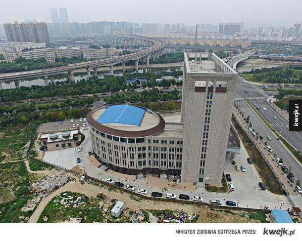 Uniwersytet w Chinach przypomina wyglądem kibel