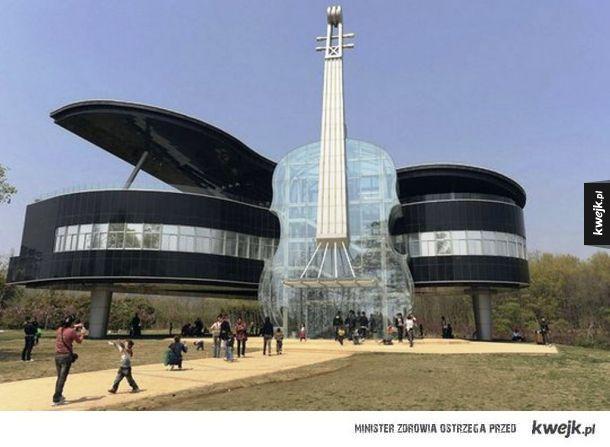 Fortepianowy dom (Huainan, Chiny)