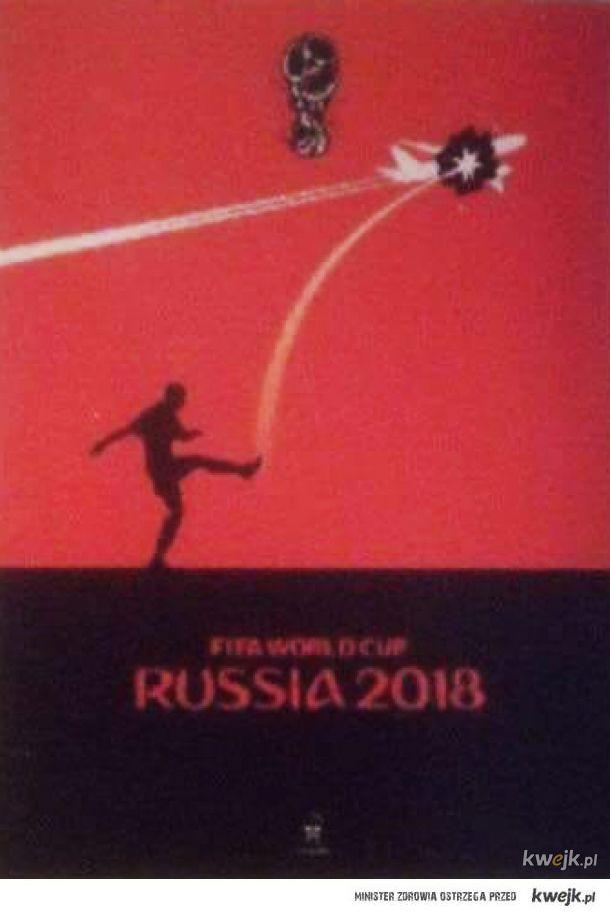 Z okazji Mistrzostw Świata w putinowskiej Rosji Holendrzy wydali znaczki pocztowe wzorowane na plakacie Andriya Yermolenko.