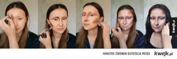 Niesamowite transformacje chińskiej makijażystki