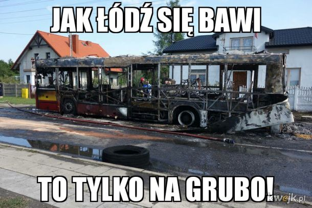 Autobus w Łodzi