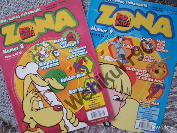 Czasopismo FoxKids.Kto zbierał za dzieciaka?