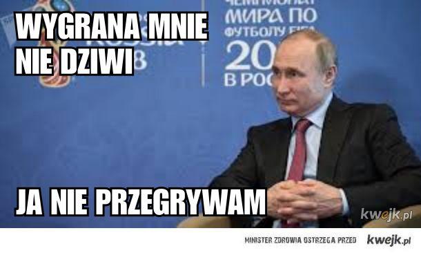 Putin już czuje  wygraną