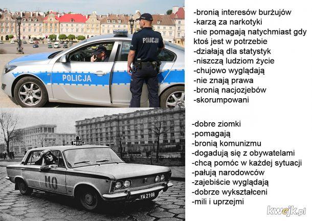 policja vs milicja