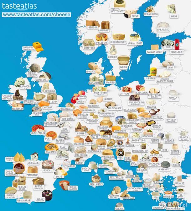 Najlepsze europejskie sery! A co z Polską?!