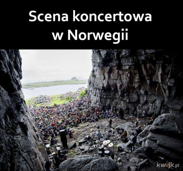 Scena w Norwegii