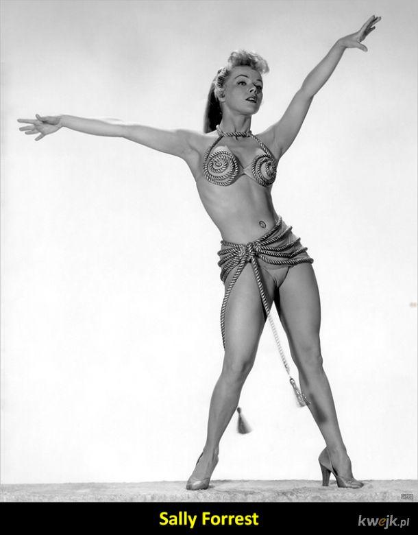 Przepiękne, choć nieco mniej znane aktorki z lat 50-tych i 60-tych