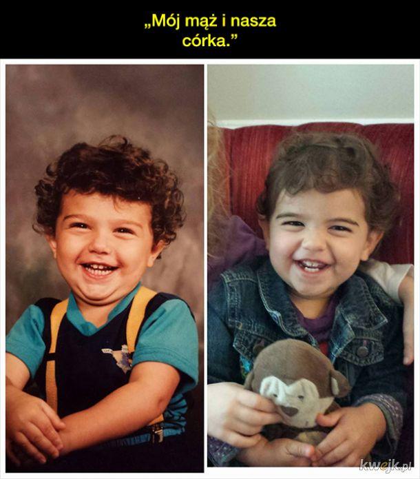 Rodzinne zdjęcia dowodem na to, że genów nie da się oszukać
