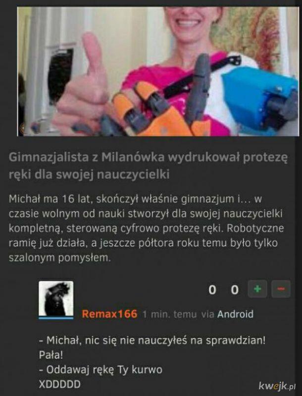 Gimnazjalista z Malinówka