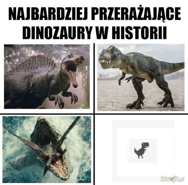 Przerażające dinozaury
