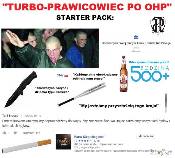 Turbo-prawicowiec po OHP