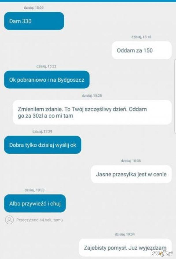 Negocjacje na OLX