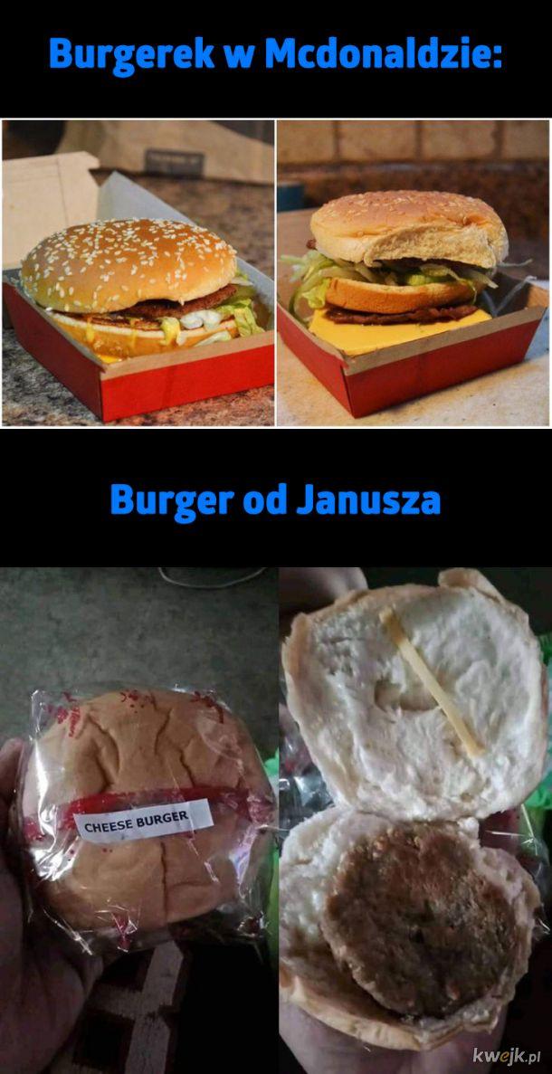 Są dwa rodzje burgerów