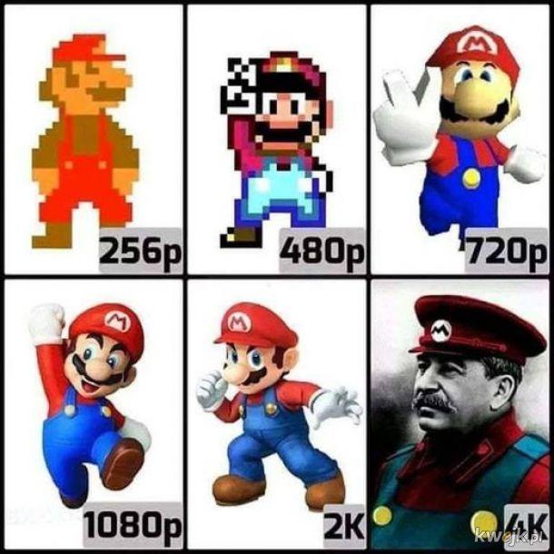 Mario jak żywy
