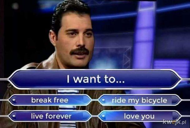 I jaka ostatecznie decyzja Freddie?
