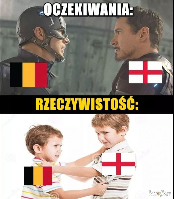 Belgia trzecią drużyna świata! - memy po meczu!