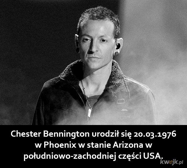 Kilka ciekawostek o Chesterze Benningtonie
