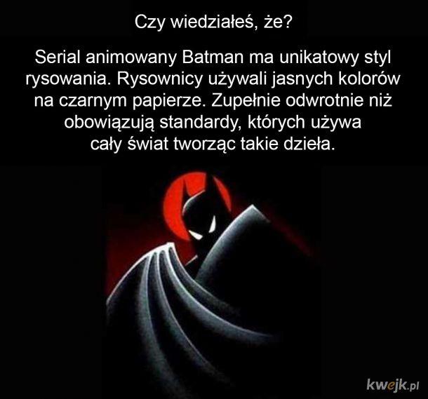 Ciekawostka o serialu animowanym Batman