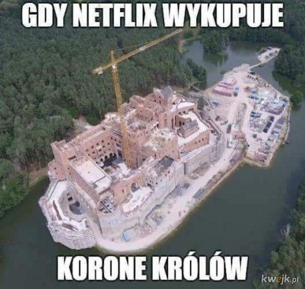 Gdy Netflix wykupuje koronę królów