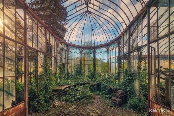 Matthias Haker robi niesamowite zdjęcia pięknych, opuszczonych miejsc