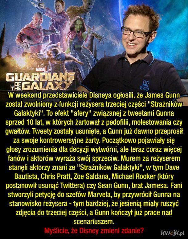 Disney kontra James Gunn