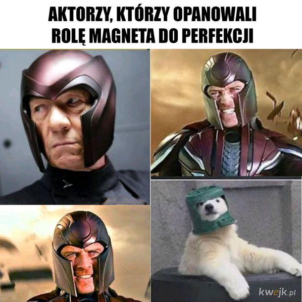 Aktorzy grający rolę Magneta